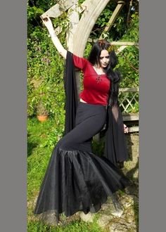 Vampyra Skirt £46.00 - Gothic Clothing by MoonMaiden