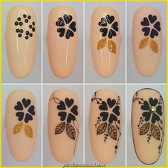 Nail design is an art. The great nail designer has completed a large number of nail art designs. If you haven't seen the process of nail design with your own eyes, you must want to know how beautiful nails are designed. New Nail Art, Cute Nail Art, Nail Art Diy, Cute Nails, Flower Nail Designs, Flower Nail Art, Nail Art Techniques, Nail Art For Beginners, Nail Art Designs Videos