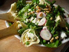 Recipe: Tortellini and Spring Vegetable Salad