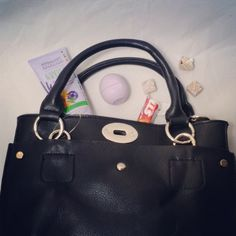 Here's our winter survival kit, with our AMANDA Black Petite Shoulder Bag Style Mini Satchel to keep it close at hand. What are your winter must-haves? http://www.mgcollection.com/shop-mini-handbags/amanda-black-petite-shoulder-bag-style-mini-satchel