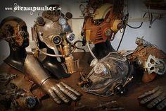 Steampunk mask, helmet www.steampunker.de