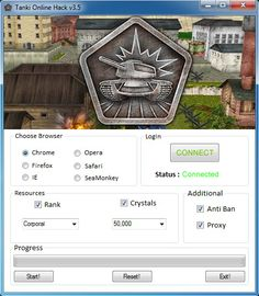 "Tanki Online Hack Cheats Tool This Tanki Online Hack will help you generate unlimited Crystals and Extra   Tanki Online Hack Cheat is our newest ""modhacks.com"" fresh from the oven. We worked hard on this one because,being a multi-platform Exploit it can be very difficult to write. After we tested this Tanki Online Hack like … Continue reading Tanki Online Hack Cheats"