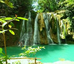 Daranak falls, tanay rizal, Philippines.