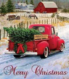 43 Best CHRISTMAS TREE CARS images in 2018 | Christmas truck, Old fashioned christmas, Vintage ...
