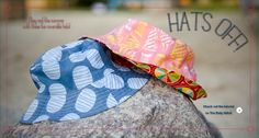 Fiona's reversible bucket hats  |  The Village Haberdashery