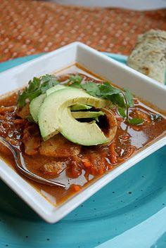 Easy Mexican Tortilla Soup   Tessa the Domestic Diva