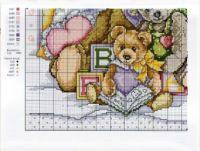 "Gallery.ru / karinaclm - Альбом ""BORDADO 18"" French Knots, Cross Stitch Animals, Craft Patterns, Plastic Canvas, Kittens Cutest, Teddy Bear, Christian, Baby, Crafts"