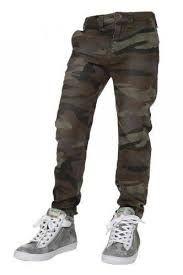 Retour stoere camouflage broek