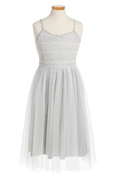 Free shipping and returns on Ruby & Bloom Crochet Ballet Dress (Big Girls) at Nordstrom.com. A crochet bodice sweetens up a darling midi dress finished with a ballerina-esque tulle skirt.