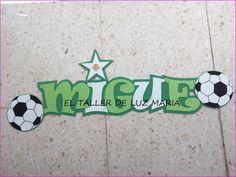 EL TALLER DE LUZ MARIA: CARTEL DORMITORIO MIGUE