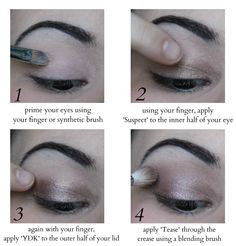 naked 2 pallet - Pinner: I have both of the naked palettes and these step by step instructions definitely helps me out a lot!