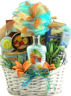 Gift Baskets For Valentine's Day For Him & Her