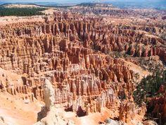USAMietwagenTips: Entdecke den atemberaubende Bryce Canyon Nationalpark mit seinen Hoodoos auf einer 21-tägigen Mietwagen-Reise: http://www.usa-mietwagen.tips/reiserouten/21-tage-suedwesten-der-usa-die-grosse-nationalpark-natur-rundreise/