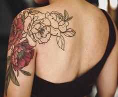 thinking of getting a shoulder tattoo soon. Pretty Tattoos, Cute Tattoos, Beautiful Tattoos, Body Art Tattoos, Sleeve Tattoos, 1 Tattoo, Cover Up Tattoos, Piercing Tattoo, Back Tattoo