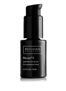 Revox II is like Botox in a bottle!      peptide-rich serum for expression lines  .This best-selling oil-free, anti-aging serum is uniquely formulated to reduce the appearance of expression lines on the face.    •Incorporates clinical levels of five different peptides  •Softens the look of expression lines around eyes, forehead and mouth  •Enhances the effects of in-office treatments