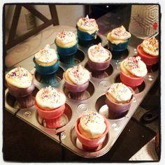 Ice cream cone cupcakes!!