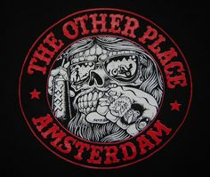 The Other Place, Amsterdam. Hells Angels bar. Had a few Amstels here in '70 and again in '79.