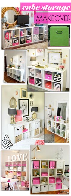 DIY Cube Storage Makeover Inspo