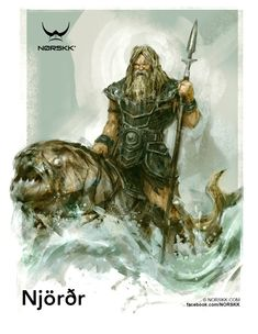 Vanir: Njörðr: God of Sea and Wealth