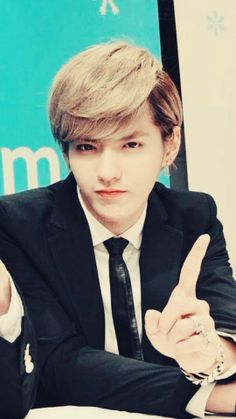 Kris... that baby face