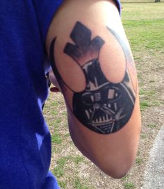 Star Wars Rebel Alliance/ Darth Vader Tattoo