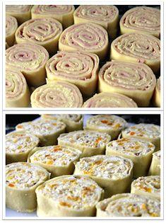 Desafios Gastronômicos: DESAFIO: Preparar dois tipos de Rondelli, com massa feita em casa!!