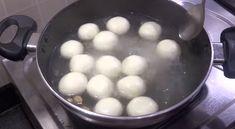 स्पंज रसगुल्ले कैसे बनाते है? How to make Bengali Rasgulla Recipe in Hindi? Step by step photo Rasgulla Recipe, How To Make Eggs, Tomato Soup, Cake Recipes, Breakfast, Condensed Milk, Agra, Laptops, Food