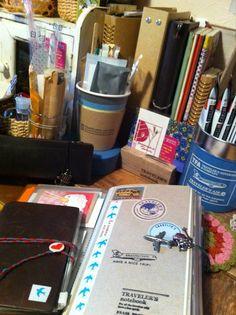 お気に入りの小さな空間   TRAVELER'S notebook みんなの投稿 - MIDORI