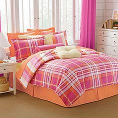 HE Reversible Plaid/Stripe Comforter - jcpenney