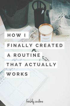 Creating a routine that works for you takes time and patience. We all have different schedules and responsibilities and it can be challenging to figure out what works. Here's how I created a weekly routine that actually works. Evening Routine, Night Routine, Morning Routines, Daily Routines, Healthy Routine Daily, Healthy Morning Routine, Vie Motivation, Good Habits, Healthy Habits