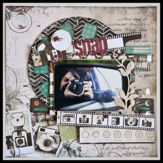 Creativa4all » SCRAPBOOKING: LAYOUT SNAP