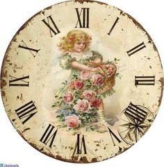 Vintage Clocks, Little Girls, Inspiration,