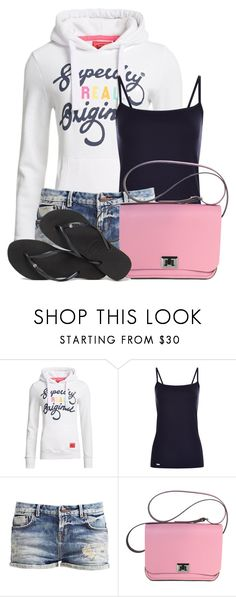 """""""Untitled #18700"""" by nanette-253 ❤ liked on Polyvore featuring Superdry and Havaianas"""