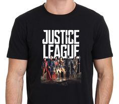 New JUSTICE LEAGUE SUPERMAN BATMAN WONDER WOMAN Men's Tee size S-to-XXL | eBay