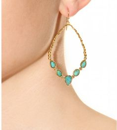alexys brittar | Alexis Bittar Cordova Earrings in Green (gold) - Lyst