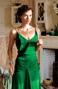 Keira Knightley In Atonement.  Photo:  Universal Studios