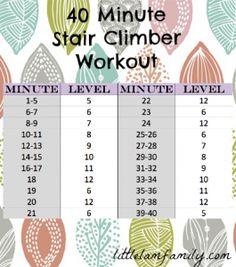 stairs machine workout benefits