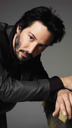 Look at Keanu Reeves.