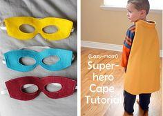 Super-hero costume tutorial