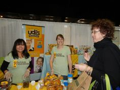 The fun loving team at the @Udi's Gluten Free Foods  booth