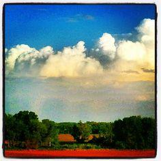 Awesum cloud display last night! - @frankyboy1- #webstagram