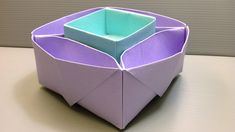 Origami Desk Organizer or Snack Dish for School or Parties!