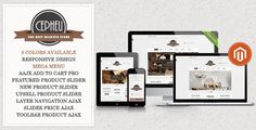 Review Cepheu - Responsive Magento ThemeThis site is will advise you where to buy