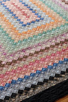 Trip Around the World Quilt   Today I took photos of a vinta…   Flickr