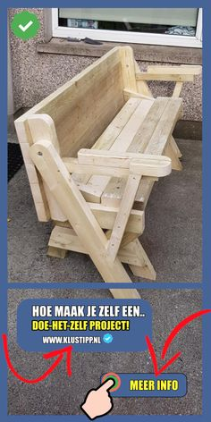 Opzoek naar een nieuwe #picknicktafel ? Maak het zelf met 🛠profes. Bouwtekeningen!, die je binnen 5 minuten kan downloaden?👨🏻💻   - #bouwtekeningendownloaden #houtbewerking #bouwtekening #zelfmaken #steigerhout #klussen #lougebank #klusseninhuis #tuininspiratie #eigenhuisentuin #dhz #buitenkeuken #overkapping #zelfdoen #doehetlekkerzelf #bouwproject #bouwplannen #constructietekening *niet elke pinpost zit in het bouwtekeningenpakket. Dit geldt tevens voor de pagina's waarnaar je… Outdoor Chairs, Outdoor Furniture, Outdoor Decor, Wood Crafts, Wood Projects, Construction, Backyard, Garden, Home Decor