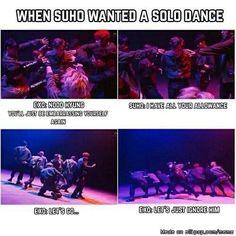 Awww poor suho