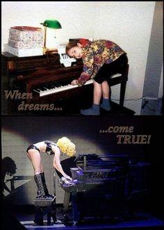 GaGa before/after #lady #gaga