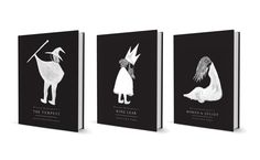 Shakespeare Book Cover Series by Brian Lemus, via Behance