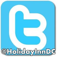 Follow the Holiday Inn Washington DC-Central/White House on Twitter:@HolidayInnDC  http://twitter.com/HolidayInnDC