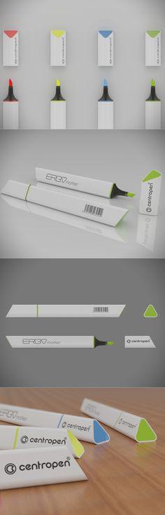ERGO marker, design, visualization, rhino 3D
